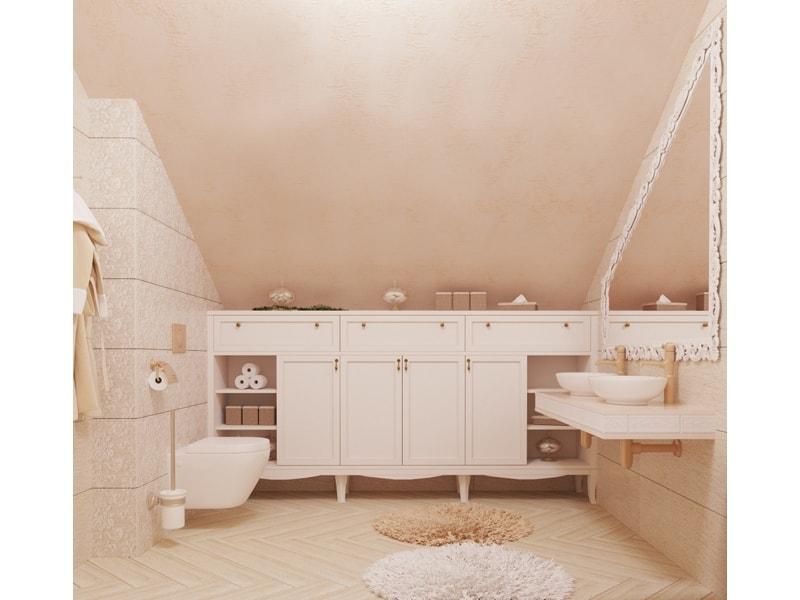 Шкафчики в ванной комнате