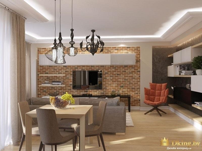 Фото интерьера квартиры: панорама