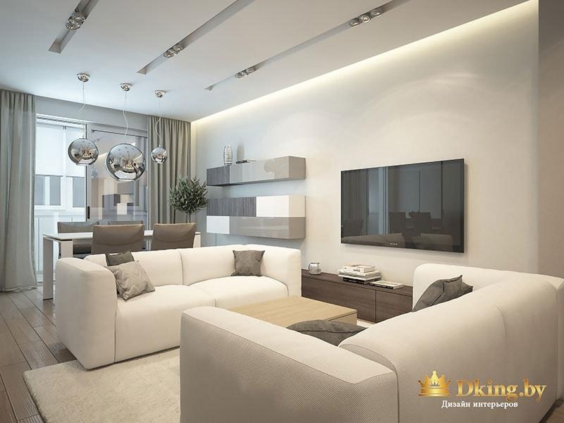 Фото интерьера зала в квартире