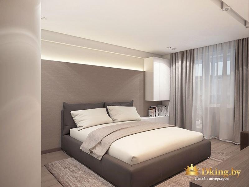 Фото интерьера спальной комнаты