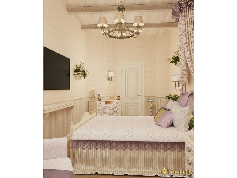 Спальня - вид сбоку