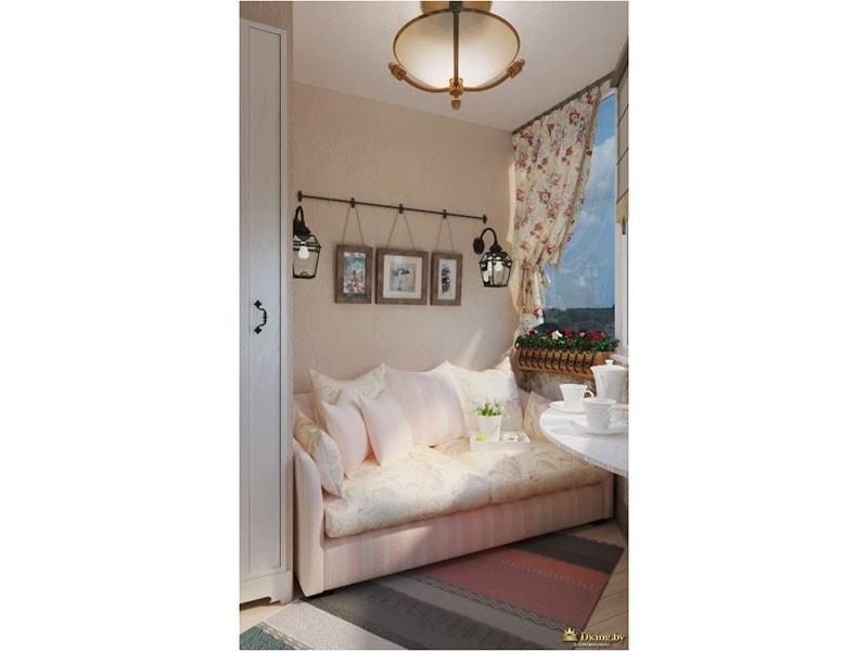 Уютная светлая комната