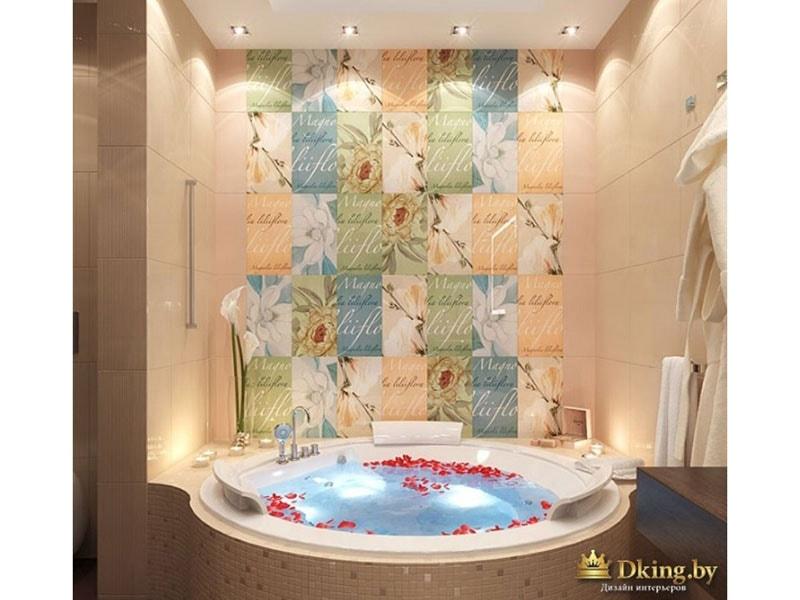 Большая круглая ванна - что может быть лучше!