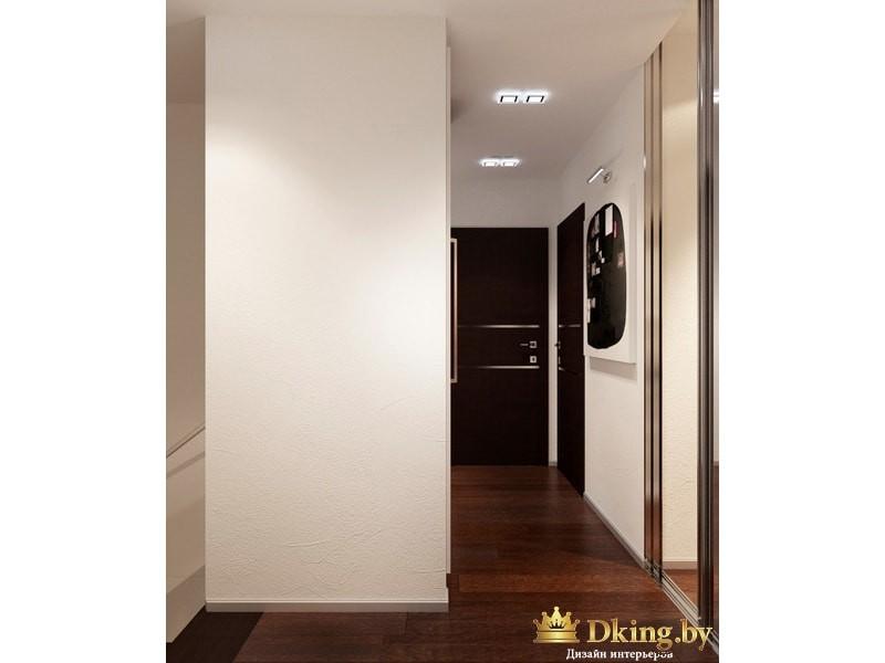 Просторный коридор между комнатами
