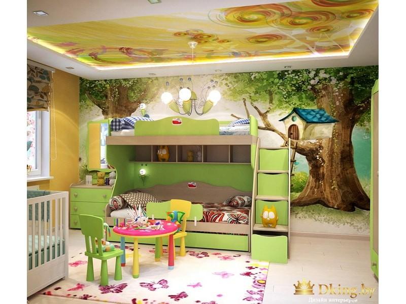 Стилизованная детская комната