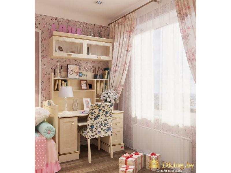 Рабочий стол в детской комнате