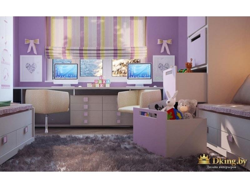 Общий вид детской комнаты
