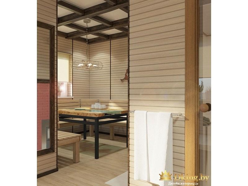 Дизайн-проект бани