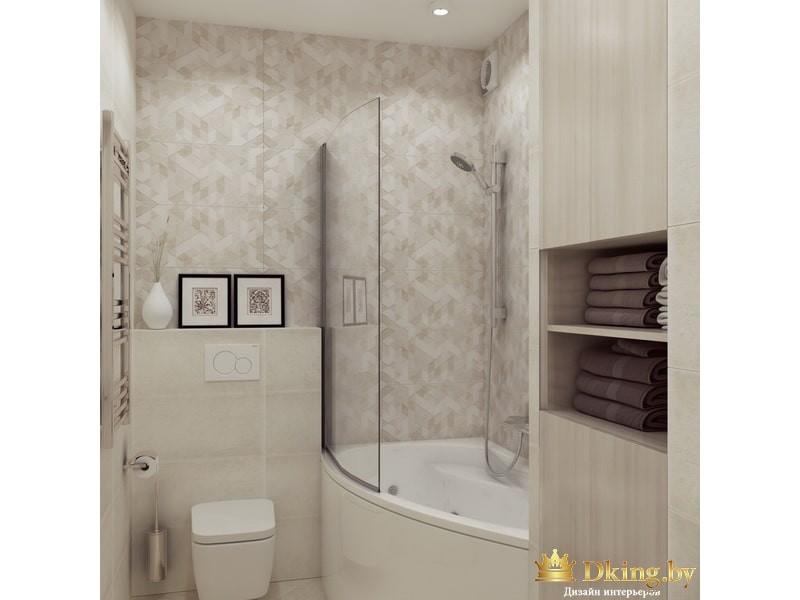 Дизайн квартиры, 4-комнатная