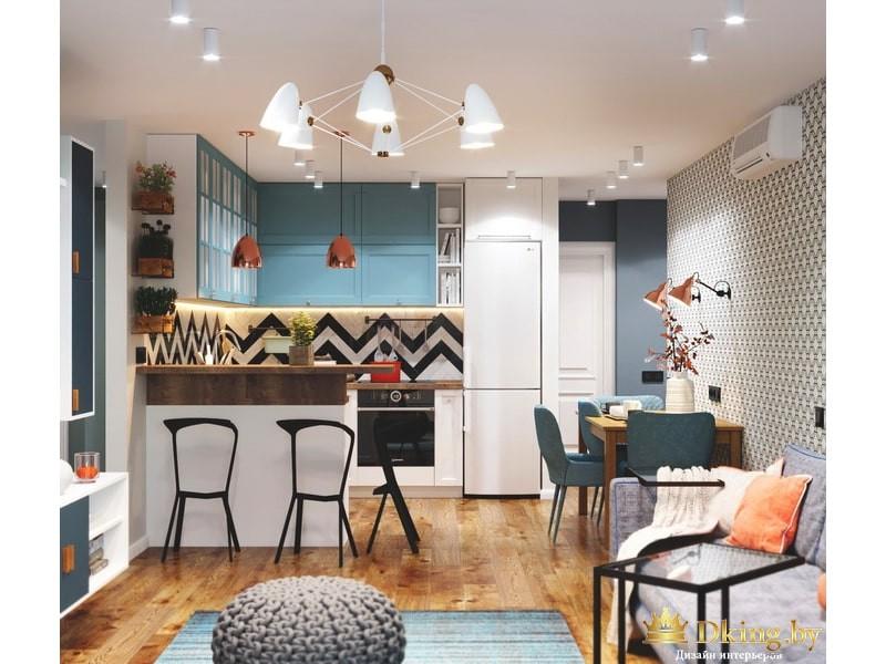 Дизайн четыхкомнатной квартиры
