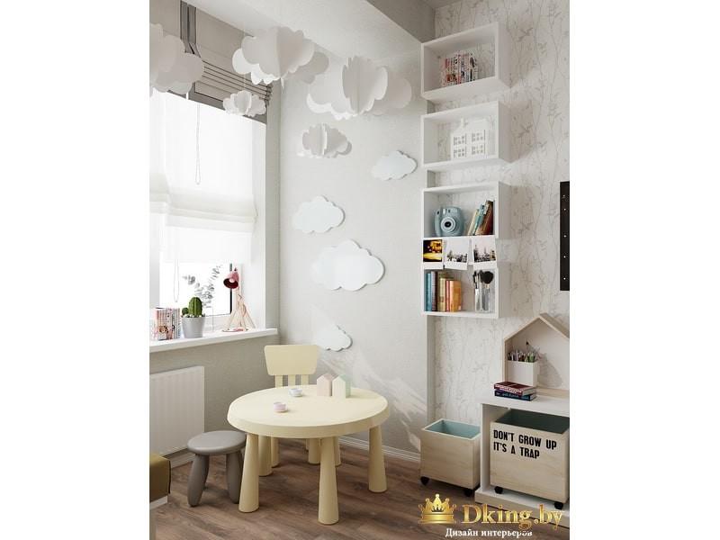 Дизайн-проект квартиры, двухкомнатная