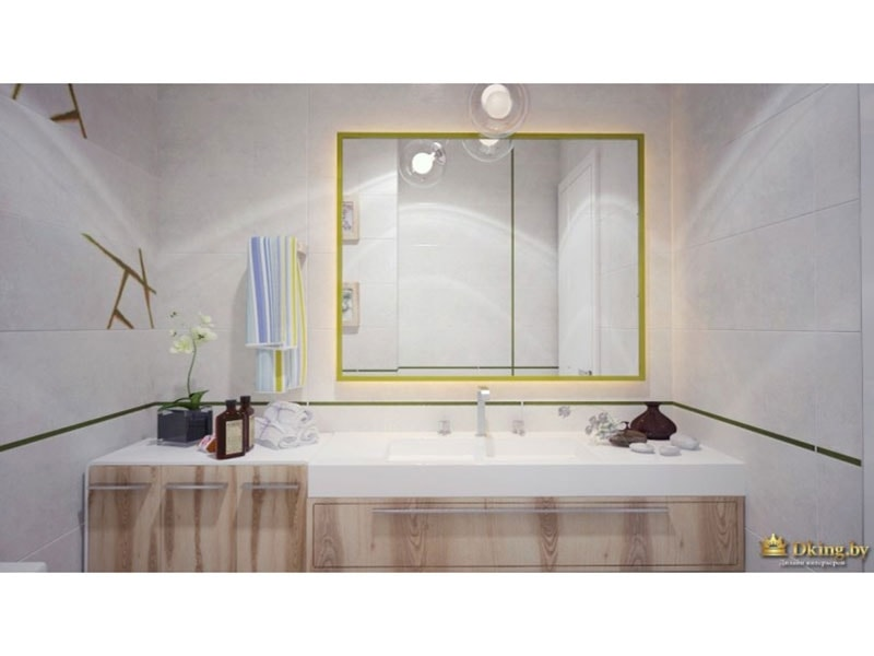 ванная комната: вид на умывальник