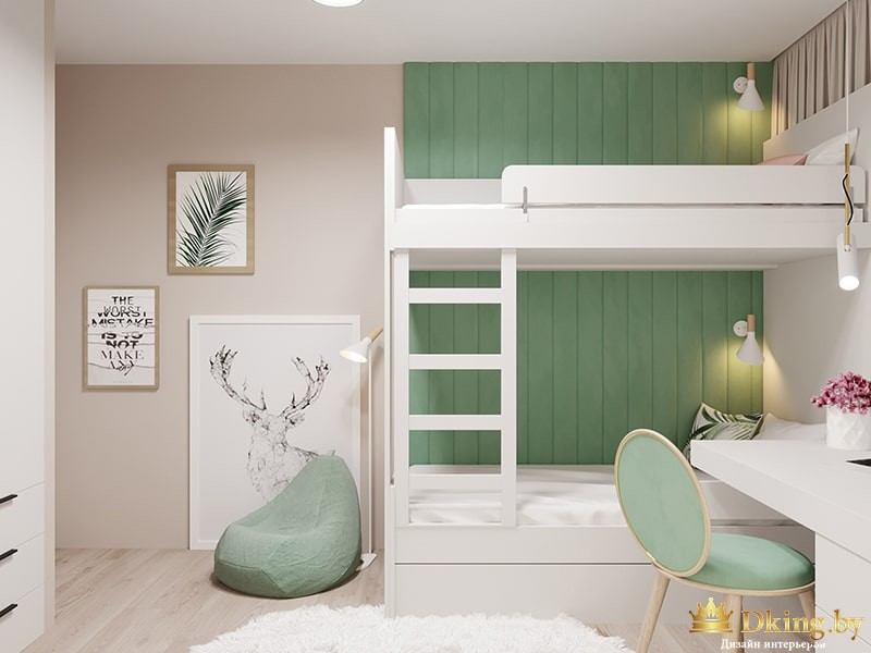 Дизайн квартиры, четырехкомнатная