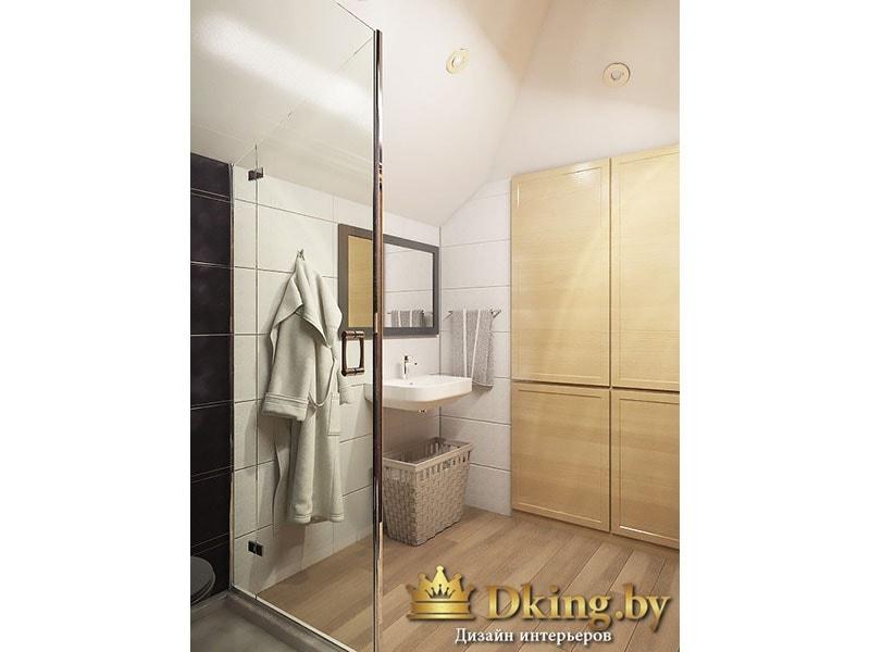 подвесной умывальник, шкаф для хранения в ванной