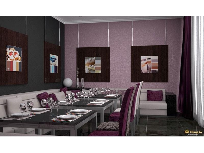 Картины около столов