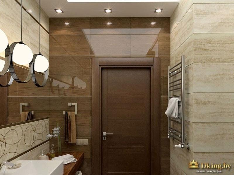 Вход в ванную комнату