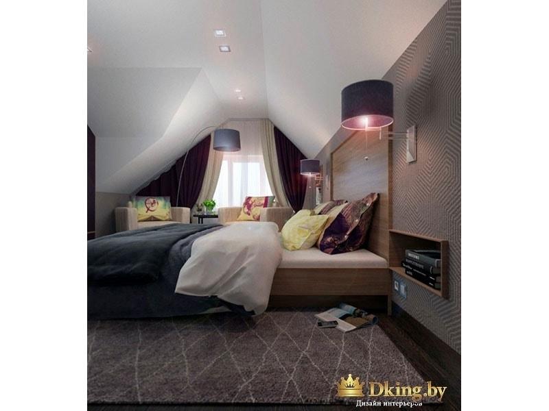 Очень большая спальня