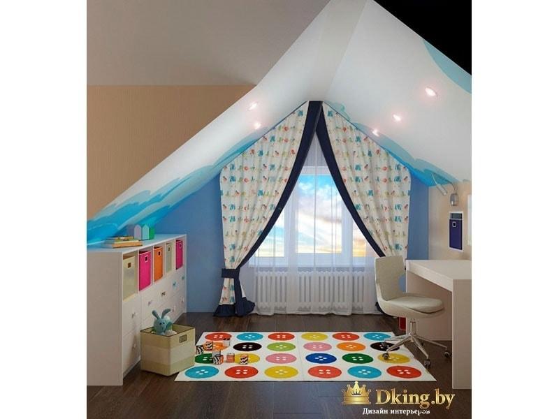 Детская комната со шторами