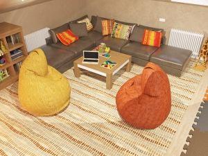 Угловой диван в детской