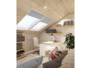 Светлы кабинет с окнами