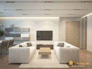 ФОтография диванов и плазменного телевизора