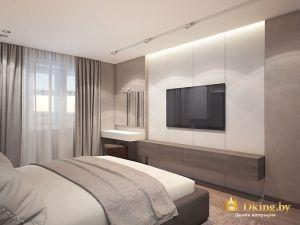 Фотография спальни и двери в коридор