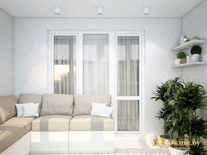 Общий фид интерьера квартиры от ДиКинг