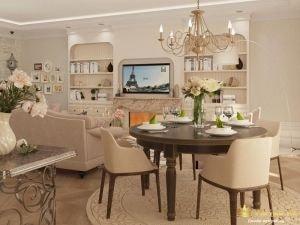 Общий вид интерьера комнаты