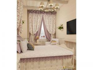 Вид на интерьер спальни с другого ракурса