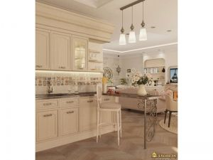 Интерьер кухни: общий вид