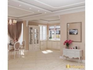 Просторная светлая комнат