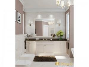 Полка и туалетный столик в ванной