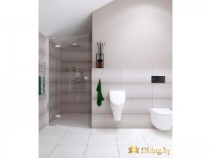 Светлая ванная комната с бидэ