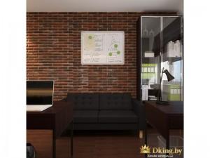 Кирпичная стена с картиной