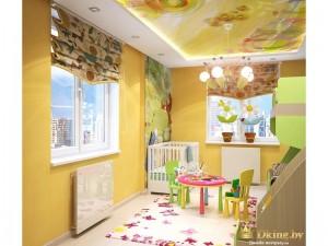 Раскрашенная детская комната