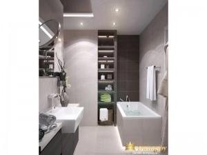 Полка для вещей в ванной комнате