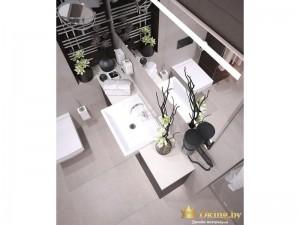 Умывальник в ванной комнате
