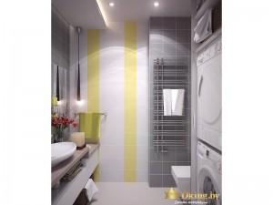 Дизайнерский радиатор в ванной