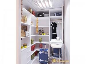 Женская гардеробная комната
