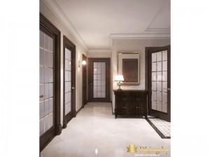 Просторный коридор в квартире