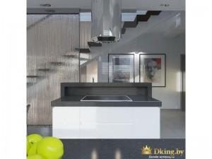 Стена-водопад на кухне
