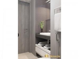 Полка для полотенец в ванной комнате