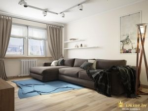 Угловой диван с таршером