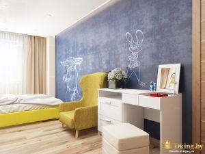 Детская комната с героями Зверополиса