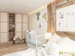 Детская комната с шкафом-купе