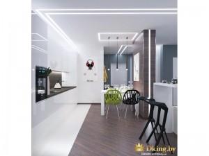 Интерьер кухни в минимализме