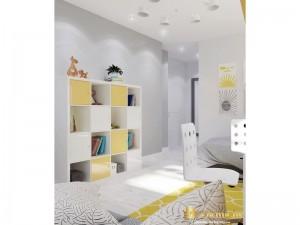 Детский шкаф в светлых тонах