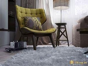 Крупный план кресла из зала