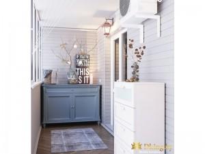 Дизайн-проект двухкомнатной квартиры