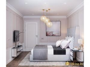 Дизайн-проект квартиры, двухуровневая